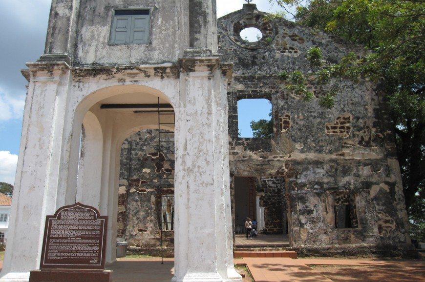 حصن القديس جون ولاية ملاكا ماليزيا