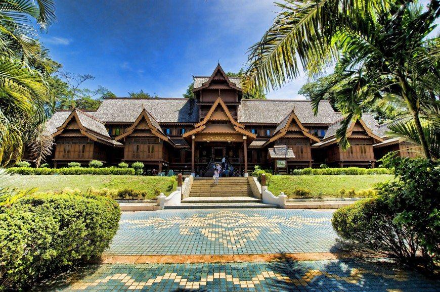 متحف السلاطين في ولاية ملاكا ماليزيا