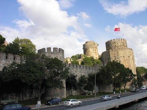اسوار القسطنطينيه بتركيا