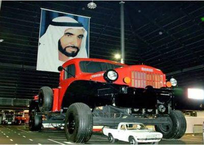 جولة في متحف الإمارات للسيارات