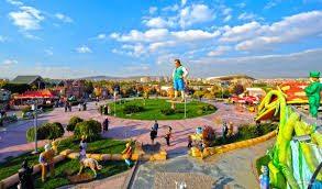 أنشطة في حديقة 50 عام انقرة تركيا