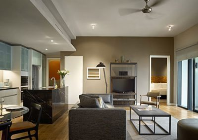 شقق اى آند أو الفندقية فى كوالالمبور E&O Residences