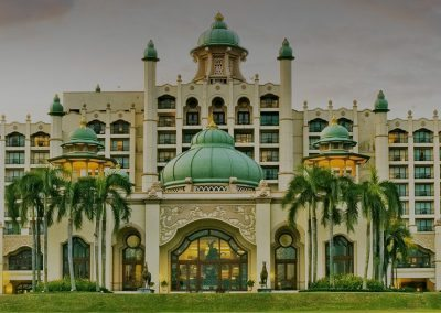 Horses Hotel Golden di Selangor Palace of Golden Horses