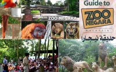 أسعار ورسوم دخول حديقة الحيوانات Zoo Negara