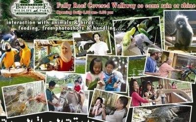 رسوم الدخول لحديقة الحياة البرية Langkawi WildLife Park