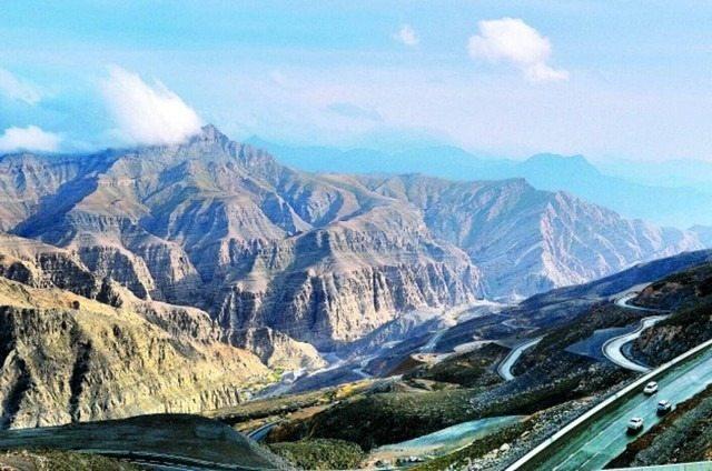 أنشطة عند جبل جيس راس الخيمة الامارات