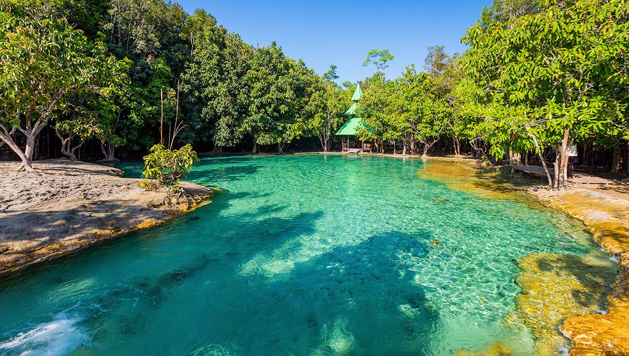 افضل الانشطه فى بركة الزمرد في كرابي فى تايلاند | بركة الزمرد تايلاند