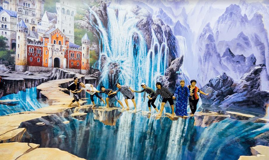 متحف ثلاثي الأبعاد في كوالالمبور ماليزيا