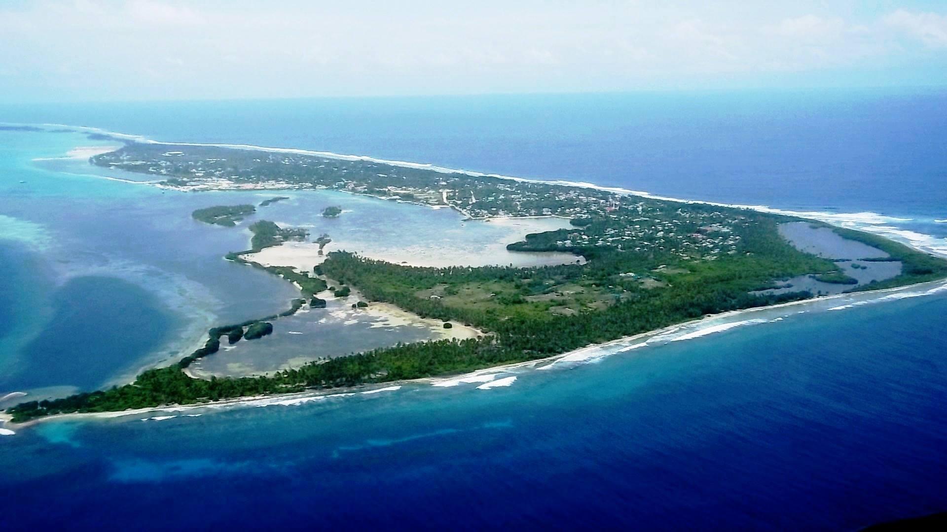 Las islas del norte de Mali en las Maldivas