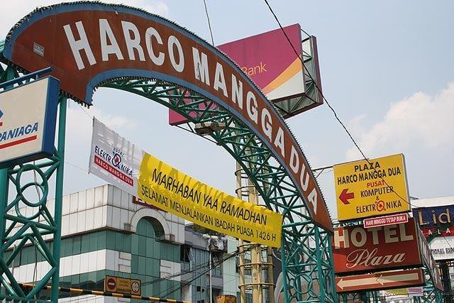 مانجا دوا أكبر منطقة للتسوق في آسيا