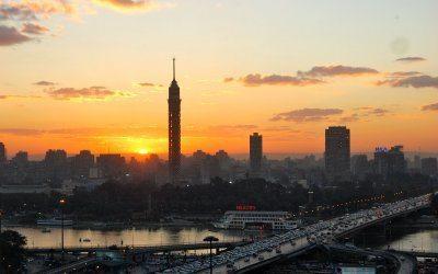 جولة فى القرية الفرعونية وبرج القاهرة