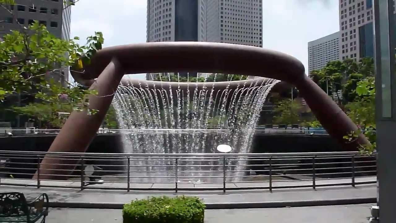 نافورة الثورات فى سنغافورة