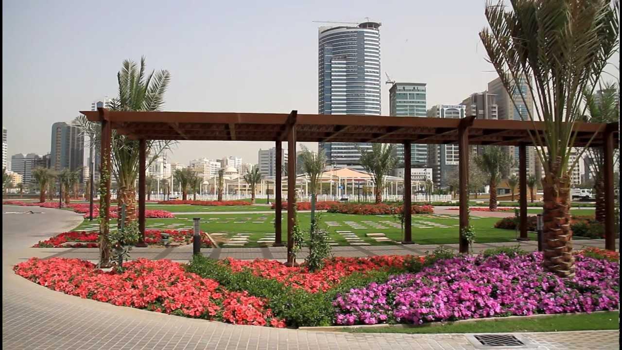 أنشطة في حديقة المجاز الشارقة الامارات