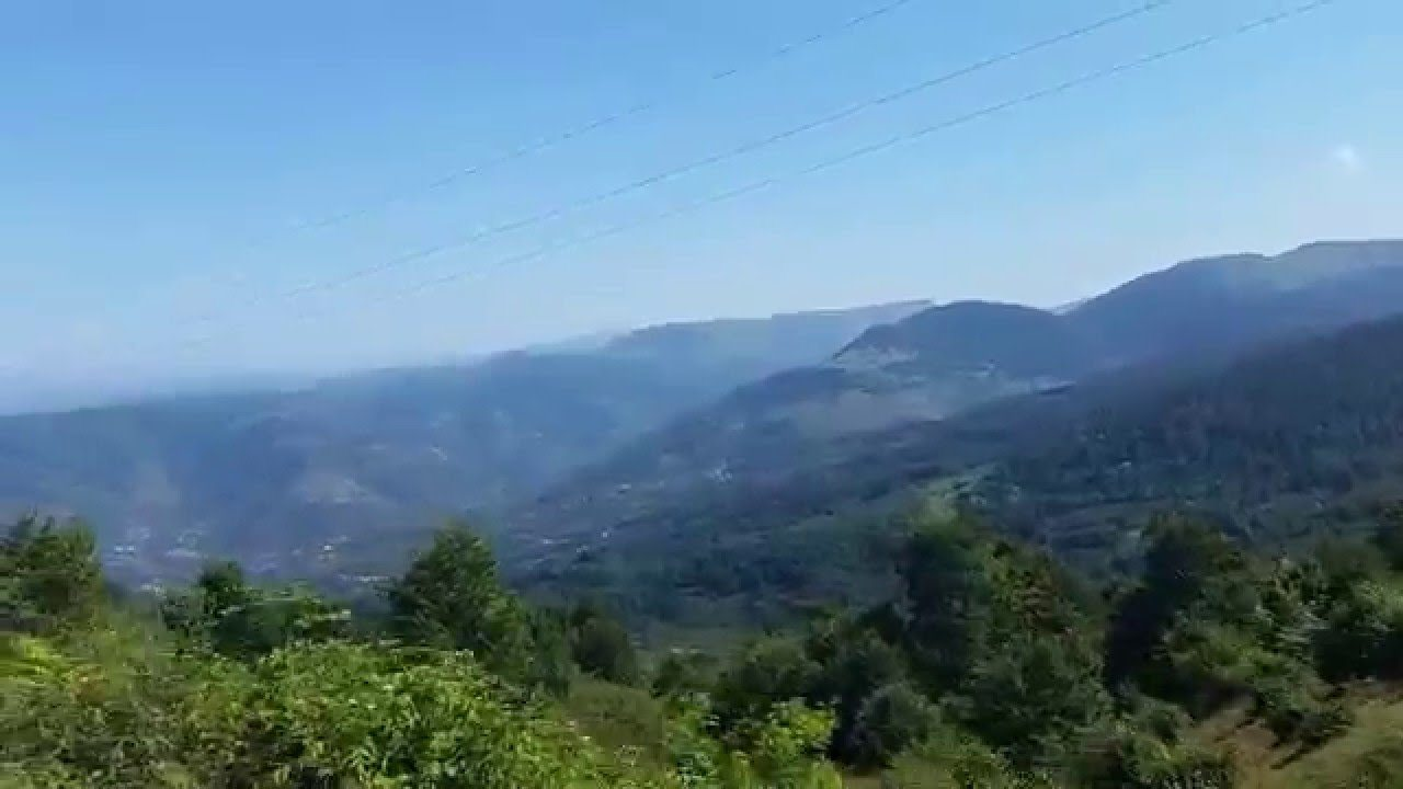 أنشطة في مرتفعات بارشمبا في أوردو تركيا