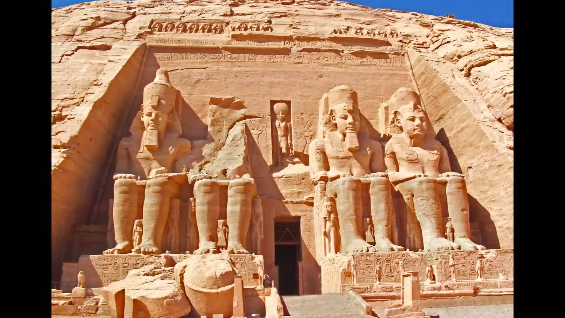 معبد أبو سمبل مصر