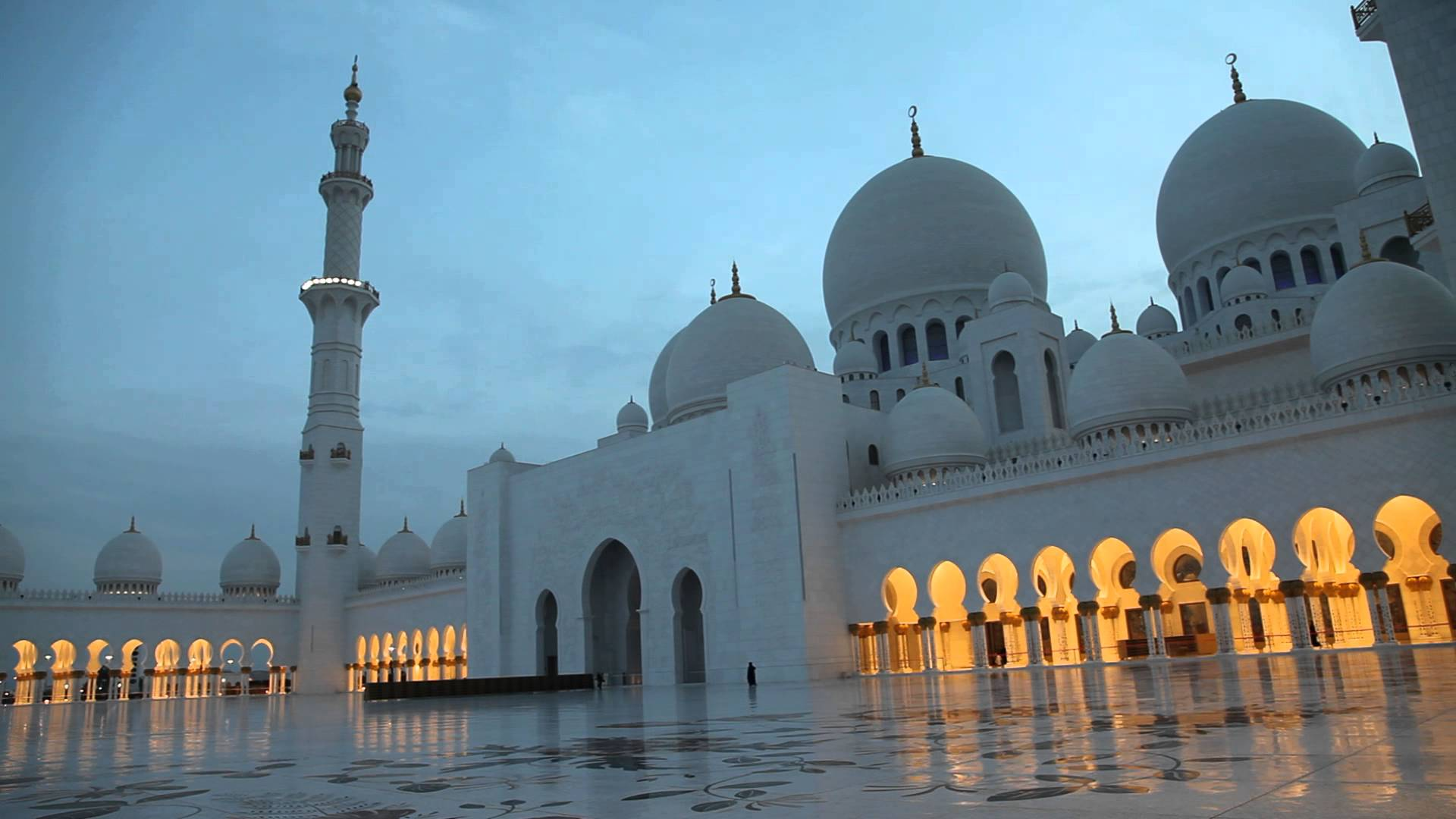 جامع الشيخ زايد الكبير الامارات