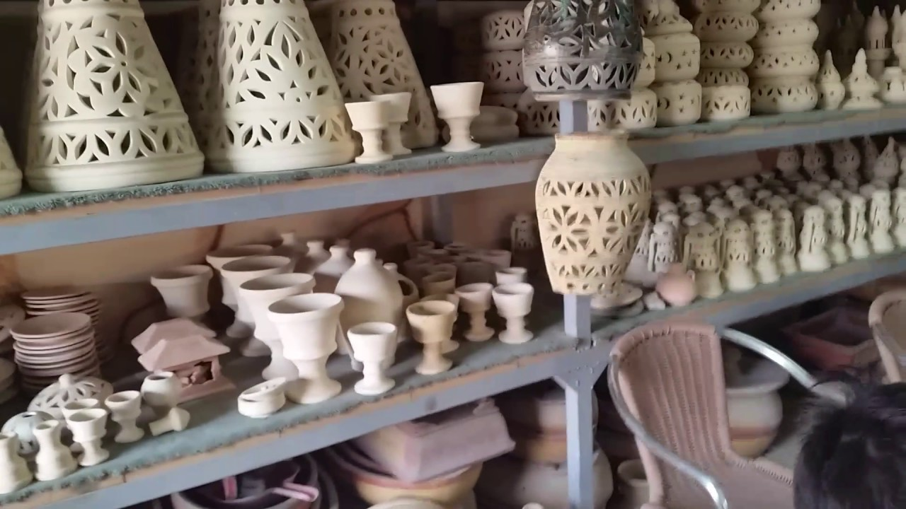 جمال وروعه تصنيع الفخار في مدينه البحرين | صناعه الفخار فى البحرين