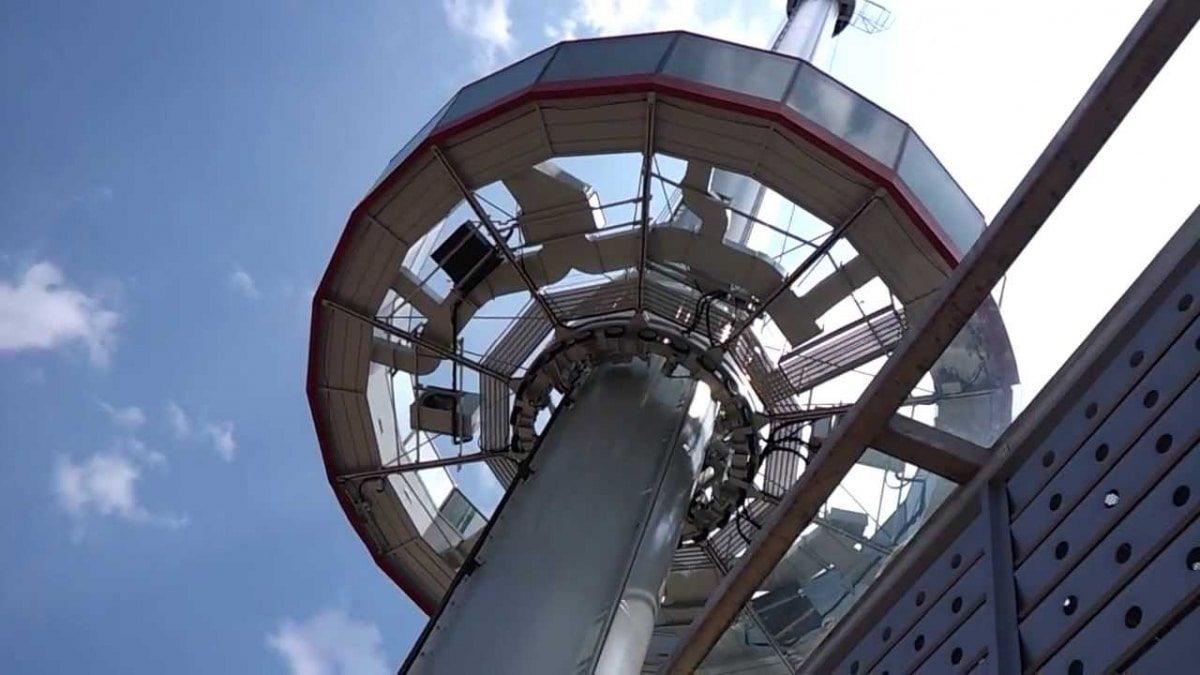 Tamang Sari Lighthouse en Malacca Malasia