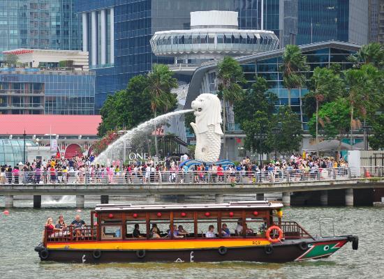 منتزه الميرليون بارك سنغافورة