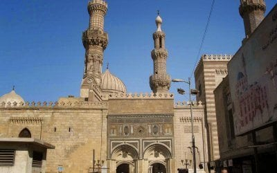 مسجد الظاهر بيبرس في القاهرة