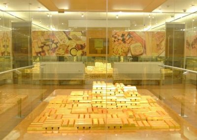 جوله فى متحف بنك اندونيسيا
