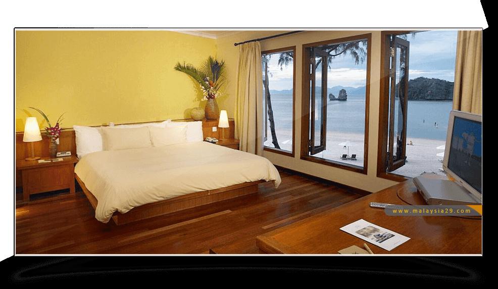 فندق تانجونج رهو لنكاوي Tanjung Rhu Resort Langkawi