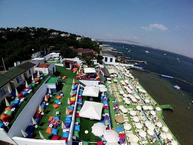 أفضل أنشطة في شاطئ ناكي بيه أسطنبول