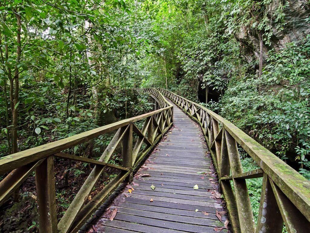 Niha Park in Sarawak Malaysia