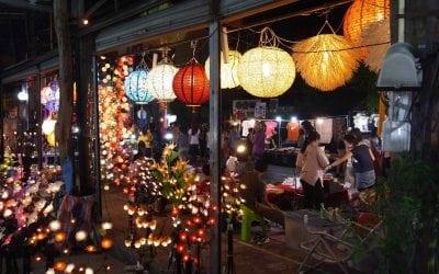 السوق الليلى فى شنغماى