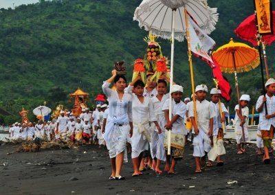 مهرجان نييبي في بالي اندونيسيا