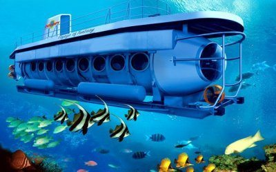 الغواصة البحرية في جزيرة بالي