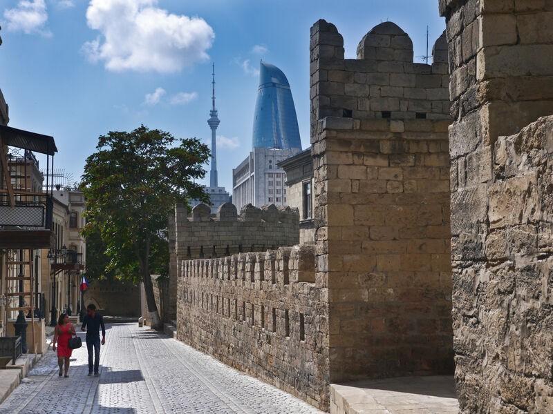 مدينة قاخ اذربيجان