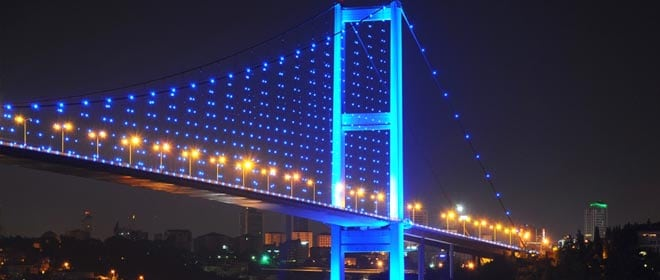جسر البوسفور تركيا