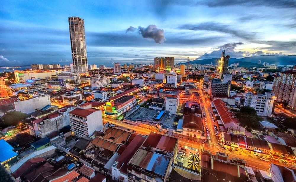 السياحة فى جورج تاون في ماليزيا