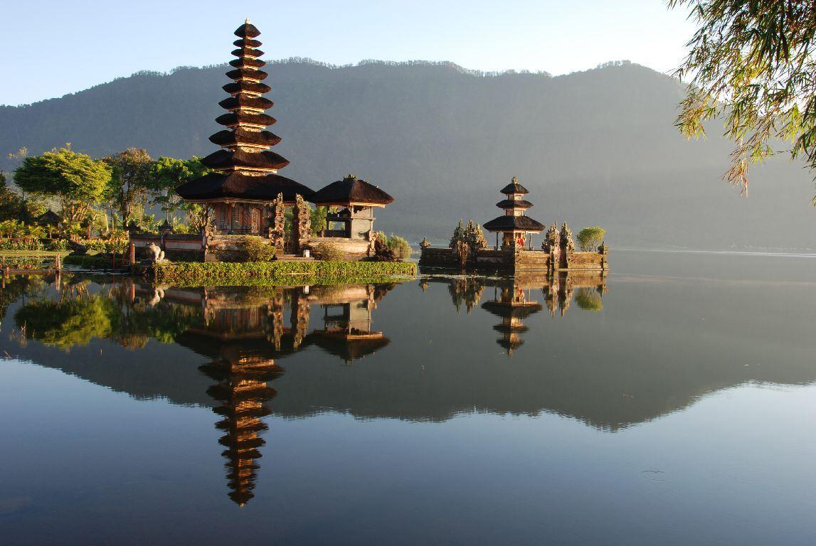 جولة سياحية دخل معبد أولو واتو بالى