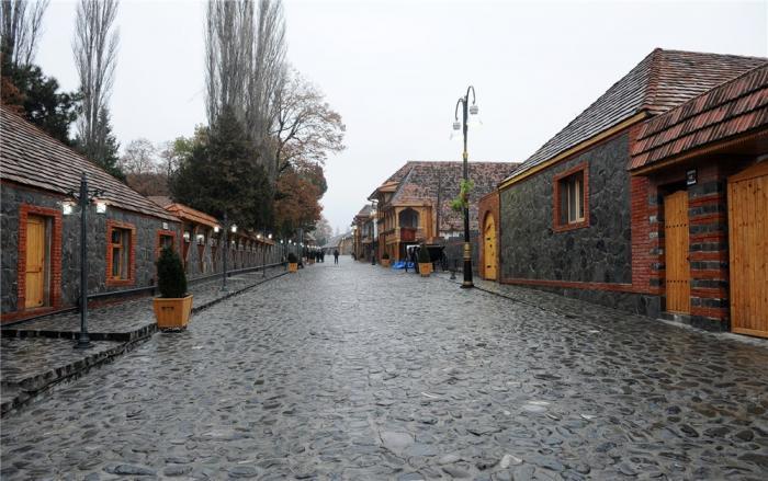 مدينة قاخ جنة الله فى أرض اذربيجان