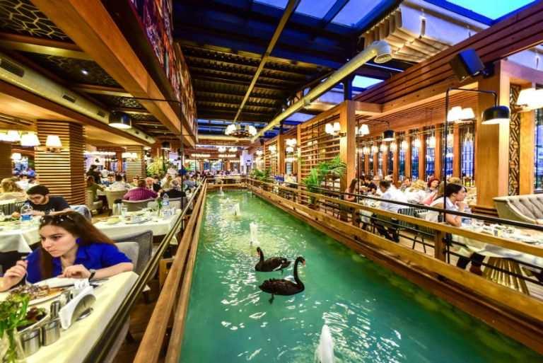 مطعم رجب اوسطا في بورصة تركيا