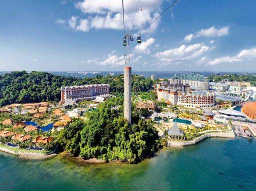 جزيرة سنتوسا فى سنغافورة