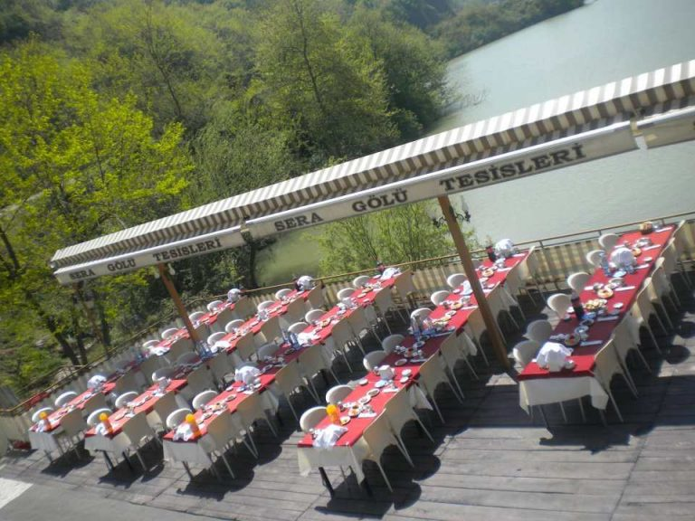 أنشطة في بحيرة سيراجول طرابزون تركيا