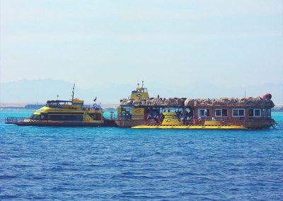 Подводная лодка Хургады