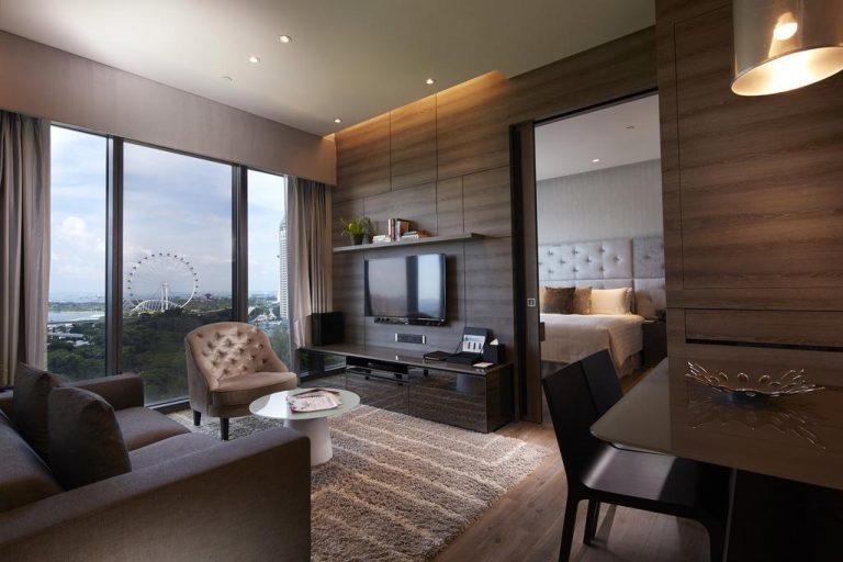 أفضل شقق فندقية في سنغافورة 2018