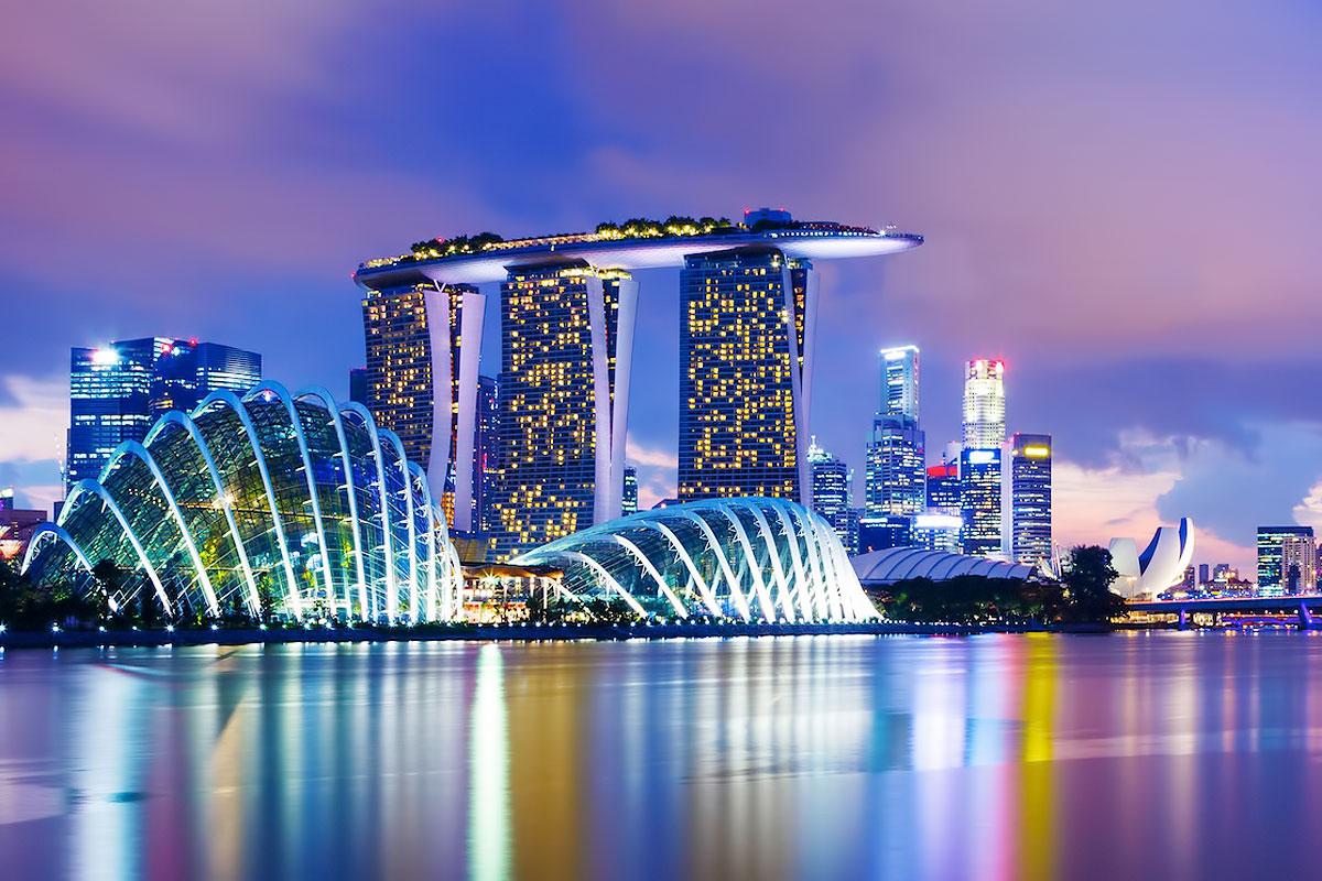 روعه مدينة جورونغ الشرق في سنغافورة