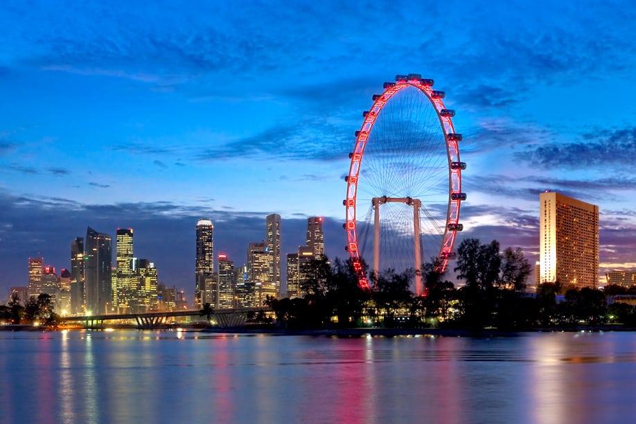 عجلة سنغافورة الدوارة  سنغافوره