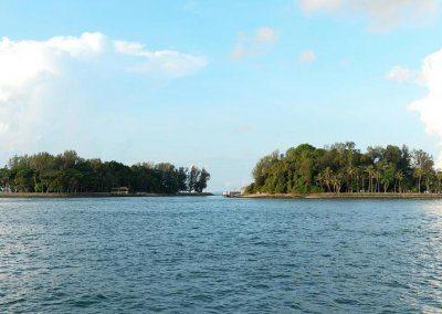 جزيرتى سيسترز و لازاروس sisters island and lazarus