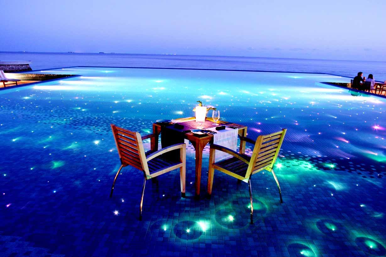 Restaurantes de Maldivas