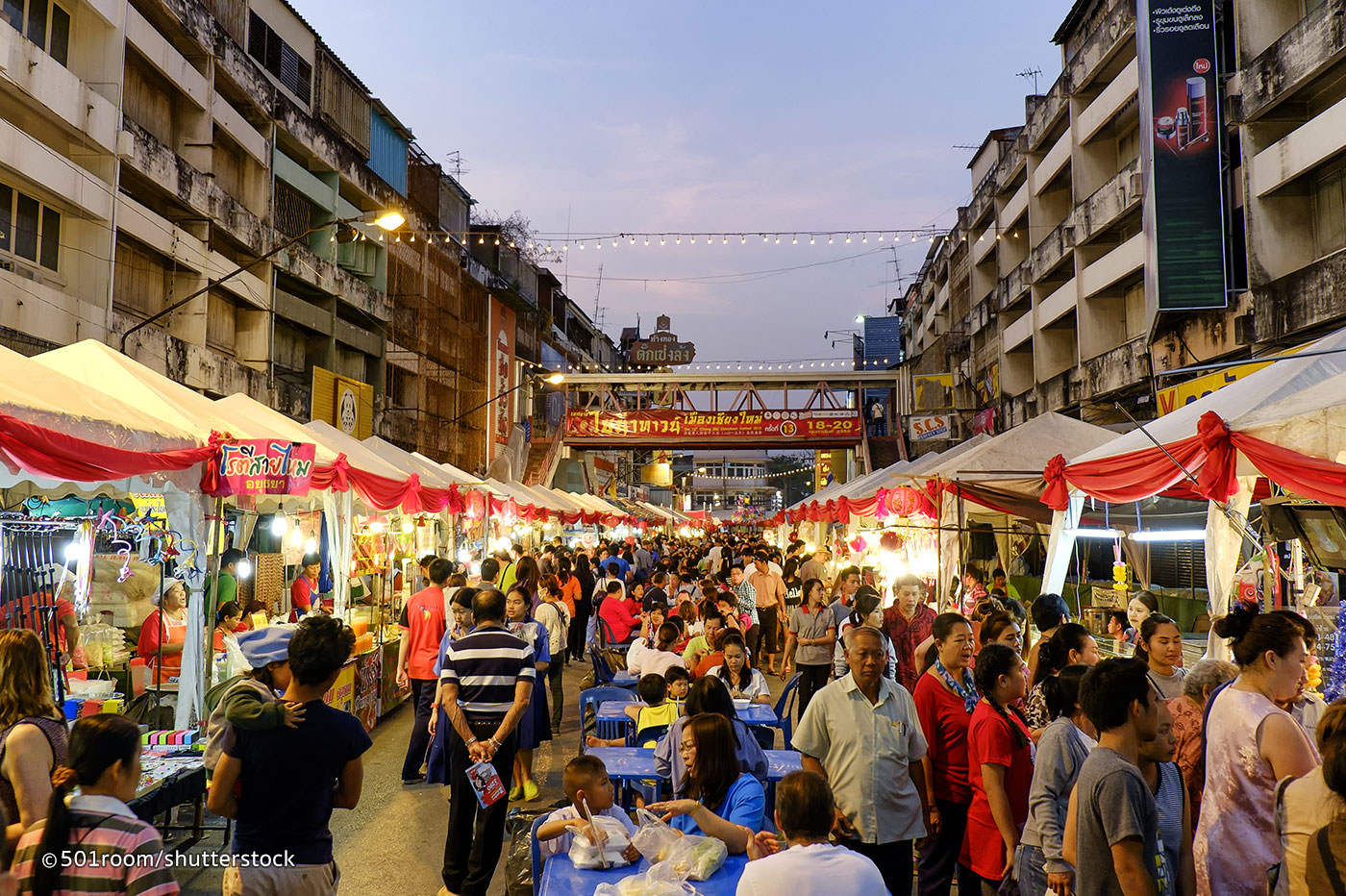 أفضل الأسواق الشعبية في بانكوك فى تايلاند