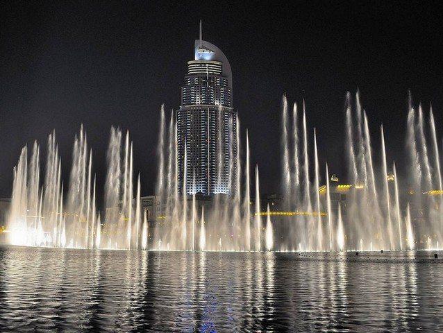 فعالیت در دبی چشمه امارات متحده عربی