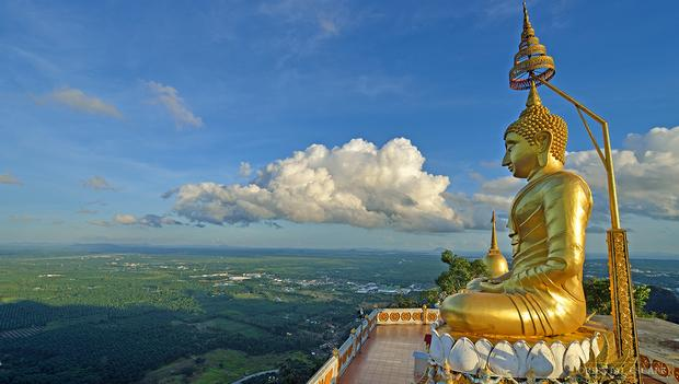 Tempio della tigre grotta Thailandia