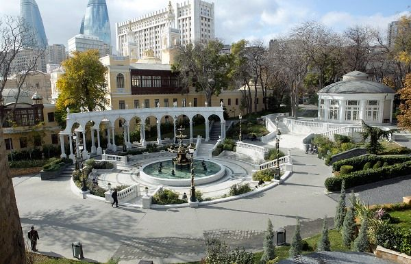 The most famous tourist places in Baku Azerbaijan