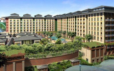 منتجعات وورلد سينتوسا فندق فيستيف Resorts World Sentosa Festive Hotel